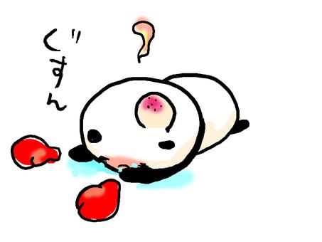 Losing panda