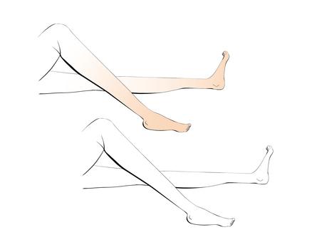 Realistic legs