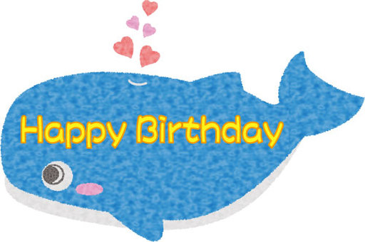 Whale birthday card 01