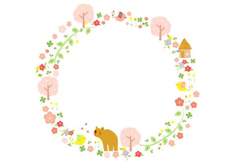 벚꽃과 작은 새 3