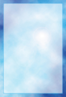 Postcard _ blue sky frame