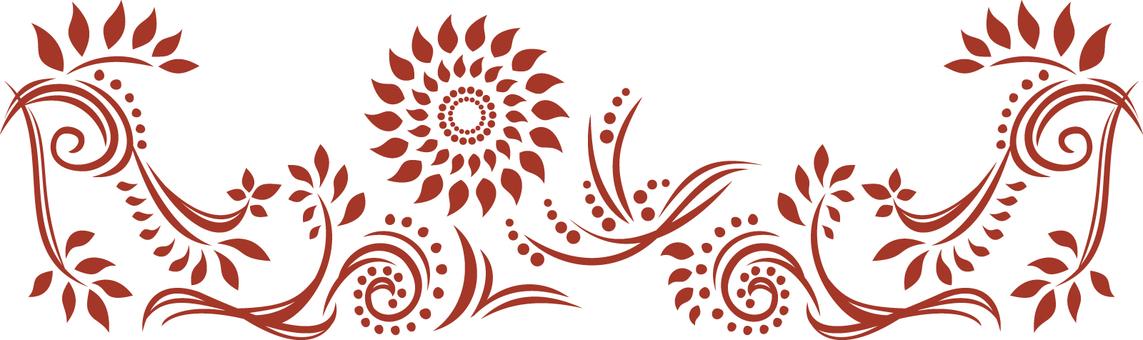 Decoration - Line - Red