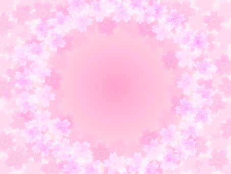 Cherry Blossom Frame A (Pink)