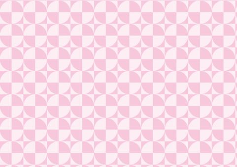 핑크색의 기하학적 배경 화면
