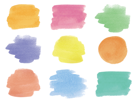 Watercolor material