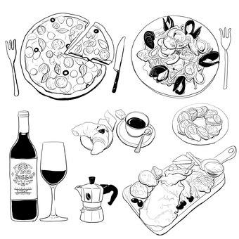 본격 이탈리아 요리