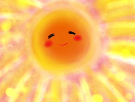 The sun in the heart
