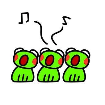 青蛙的合唱