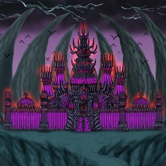 Demon castle background