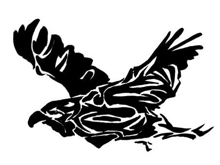 실루엣 독수리