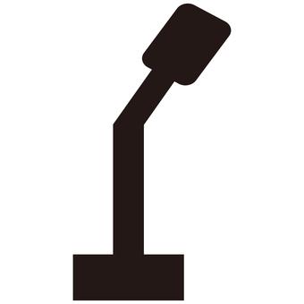 Speech microphone