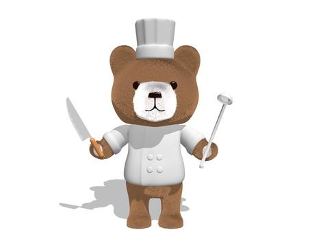 Teddy bear · cook