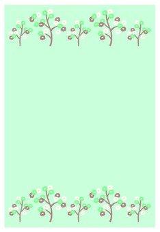 식물의 프레임