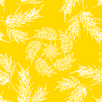 Wheat pattern (transparent background)