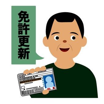 Driver license renewal