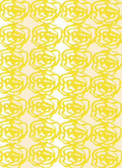 Rose flower Yellow father's day message background