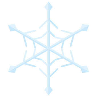 Snow crystal 02