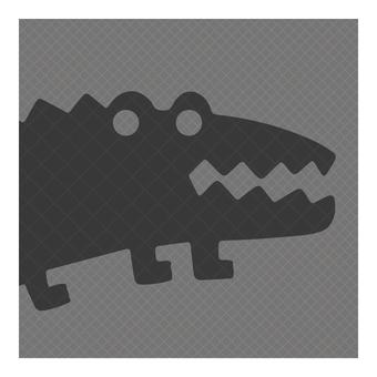 Business icon (crocodile)
