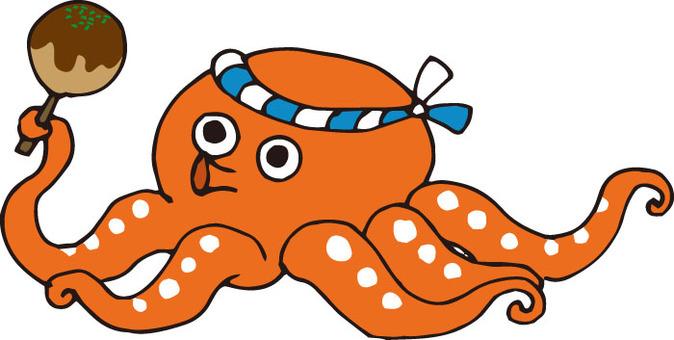 Takoyaki octopus