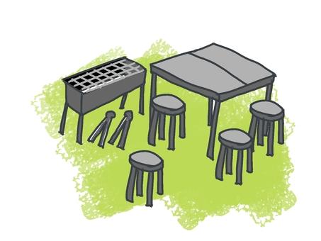 Desk Is Set