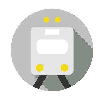 Flat icon - Train