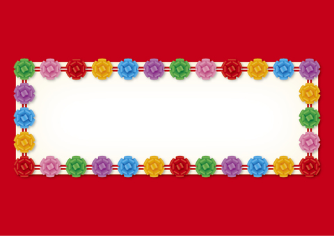 Signboard with ribbon 2