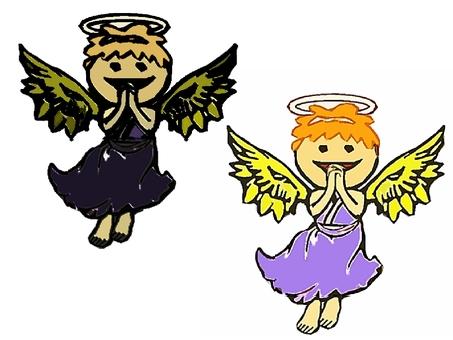 Angel and fallen angel.