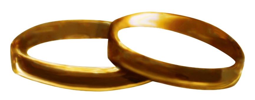 3DCG結婚戒指