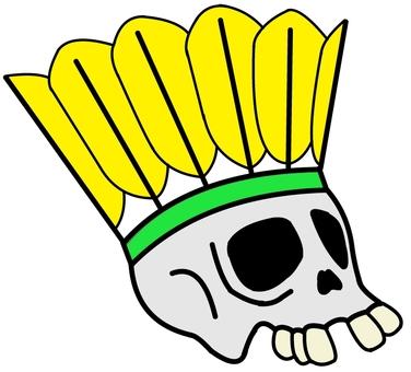 Badminton skulls