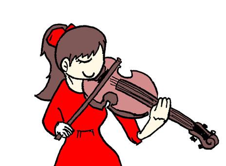 바이올린 소녀