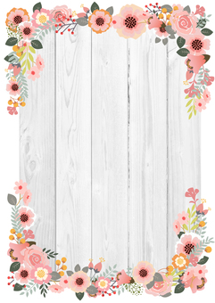Flower decoration frame 24