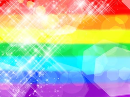 Background · Sparkling Rainbow