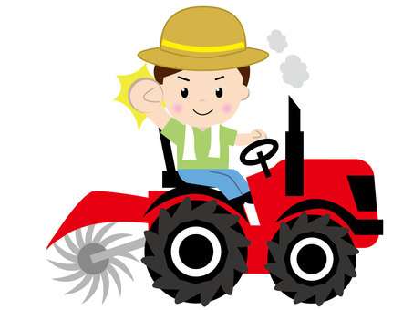 Tractor - With people 1