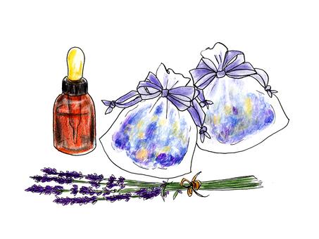 Potpourri of lavender