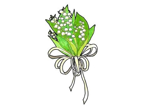 Suzuran's bouquet