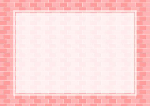 Brick frame material -4