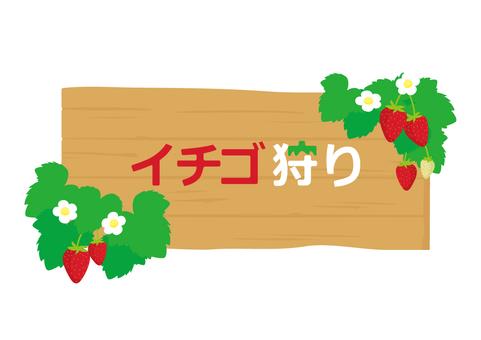 Ichigo hunting plate