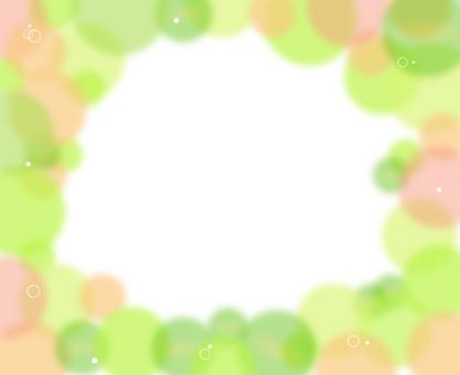 Green frame frame