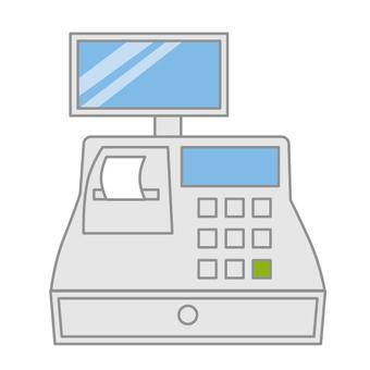 Store cashier register