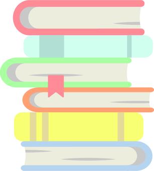 Pile of books (light)