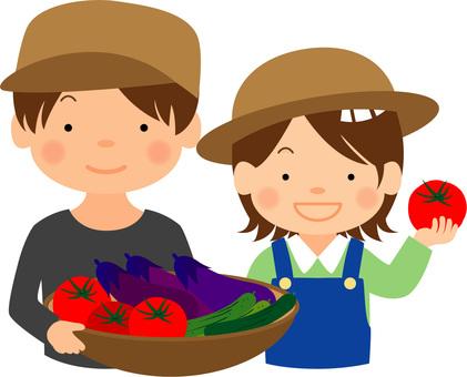 Vegetable farmer / type i / uta