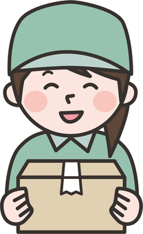 Delivery person 08