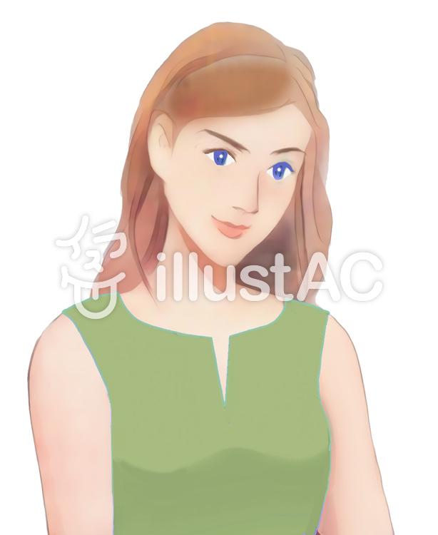 美しい女性イラスト No 1175332無料イラストならイラストac