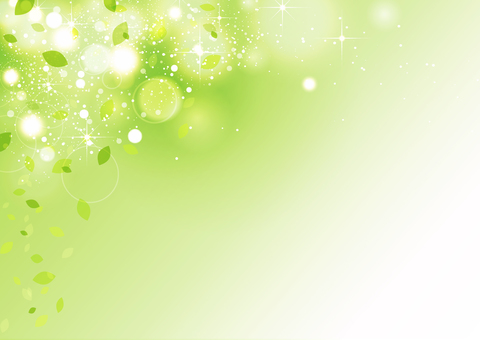 Green sparkling background material