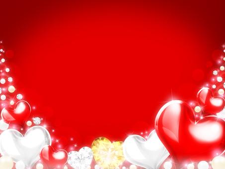 Female · Autumn · Winter · Valentine's Heart Background 9