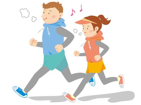 Running in pairs