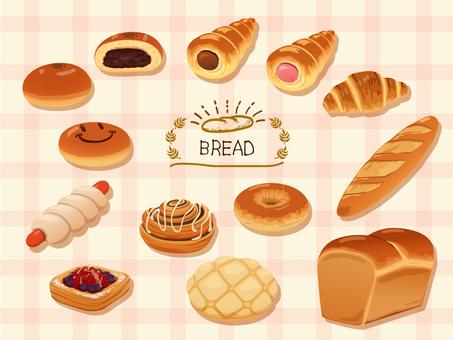 Bread illustration 01