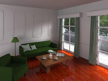 Interior decoration in the building interior Perth