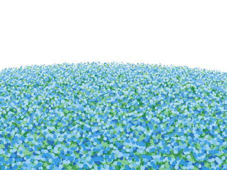 푸른 꽃밭