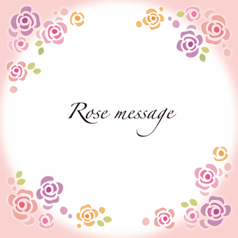 Rose frame rose wallpaper rose frame